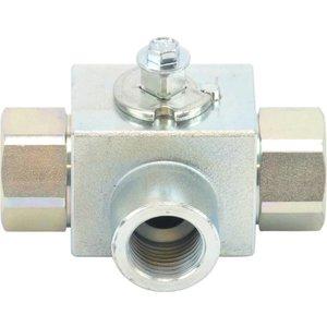 "hp ball valve 3-way  1/2"""