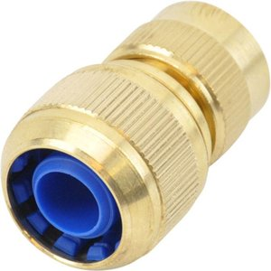 """Quick coupler brass, female part with 3/4"""" hose connection, for filling hose 3/4"""""""