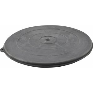 Rubber deksel diameter 355 mm.