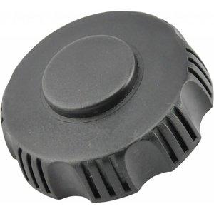Fuel cap with vent valve for plastic ROM tank (liquid / fuel / hydraulic oil)