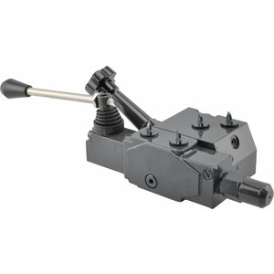 Control valve for hydraulic hp reel drive (with speed control)