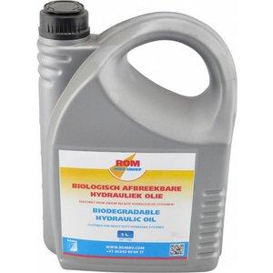 ROM Biologisch afbreekbare hydrauliek olie (5 liter kan)