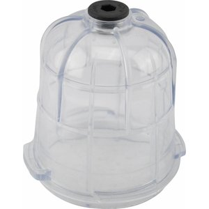 Separate glass for water separator