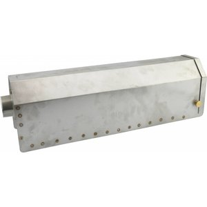Cover for stainless steel carbon filter housing