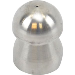 Standard pipe cleaning nozzle with front beam (33) 1/2'' stainless steel<br /> (33115-6)