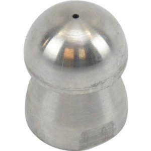 Standard pipe cleaning nozzle with front beam (33) 1/2'' stainless steel<br /> (33116-6)