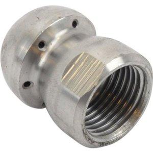 Standaard spuitkop met voorstraal (33) 1/2'' RVS<br /> (33117-6)