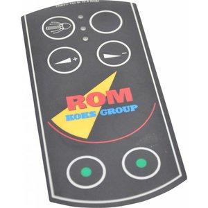 Tele Radio ROM folie ten behoeve van handzender voor afstandsbediening 6-kanaals