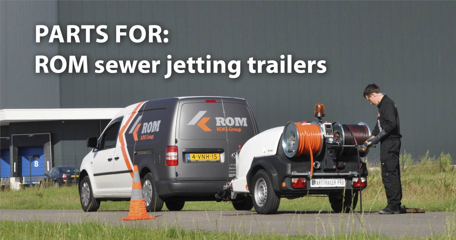 sewer jetting trailers