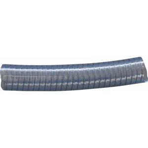 Transparent low pressure hose steel-reinforced diameter 40 mm