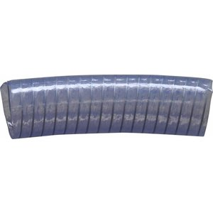 Doorzichtige lagedruk slang staalversterkt diameter 60 mm