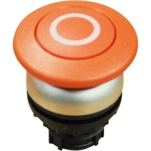 Red button (short) for emergency stop