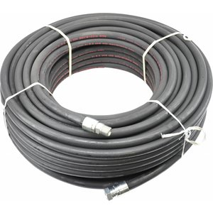 """80 m 1/2'' ROM hp hose steel ply """"Professional"""", max. 300 bar (with straight connector on reel side)."""