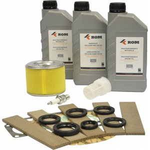 Maintenance kit TYPE 2, FLEXI 1000/400, FLEXI 1200/800 with Honda GX270 petrol engine