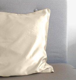 Sleeptime Kussensloop Creme Glanssatijn