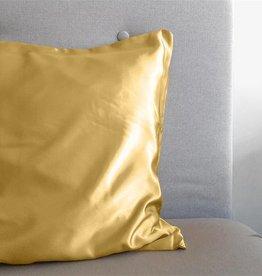 Sleeptime Kussensloop Goud Glanssatijn