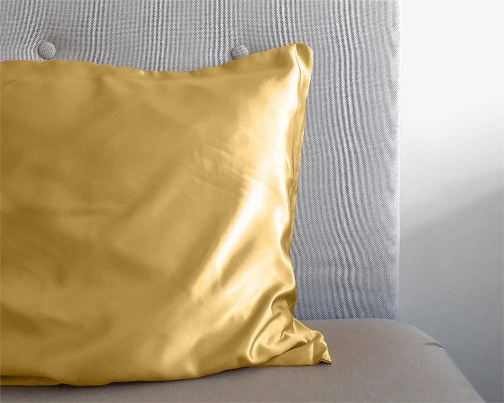 Sleeptime Beauty Skin Care Kussensloop Goud Glanssatijn