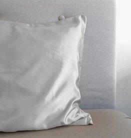 Sleeptime Kussensloop Zilver Glanssatijn