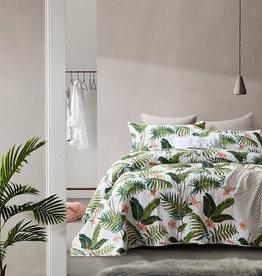Dreamhouse Bedsprei Botanical White