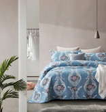 Dreamhouse Bedsprei Retro Flower Blue