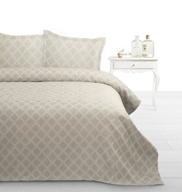 Fancy Embroidery Bedsprei Adele Taupe