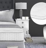 Sleeptime 3D AIR Hotel Mattress Topper White