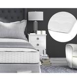 Sleeptime Luxury Hotel Mattress Topper White