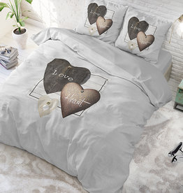 Dreamhouse Love Hearts Grey
