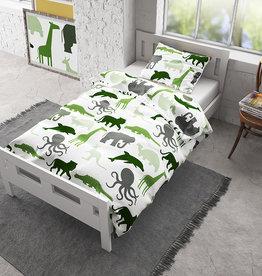 Dreamhouse Flanel Small Dino Green