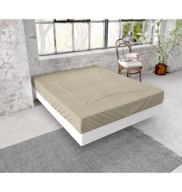 Dreamhouse Hoeslaken Flanel 150g. Taupe