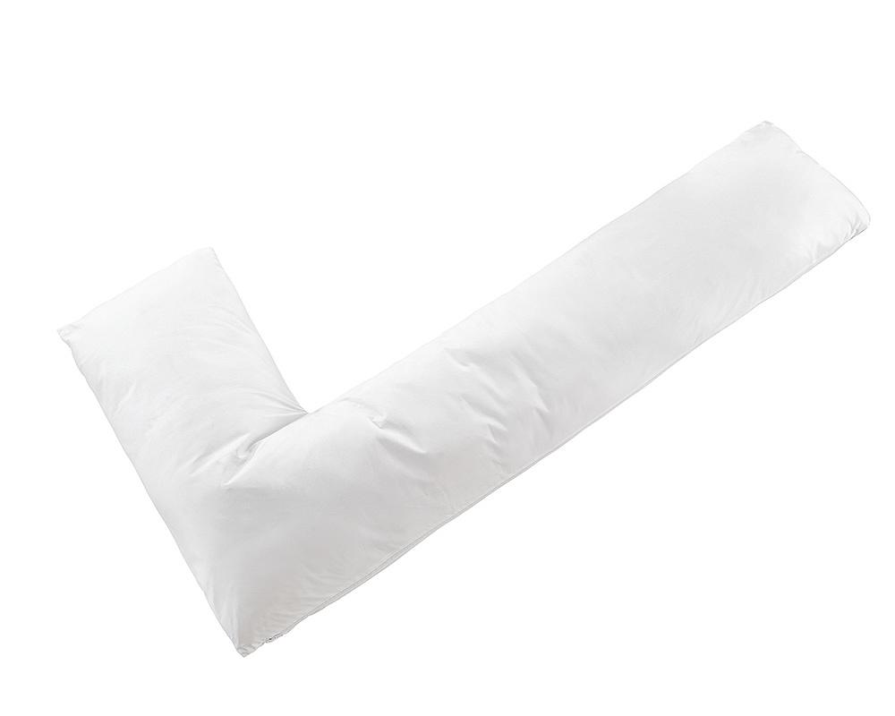 Sleeptime Hug Pillow White