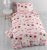 Sleeptime Small Love Pink