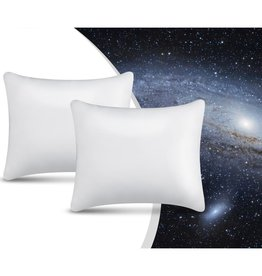 Swiss Nights 2Pack NASA Memory Foam Pillow White