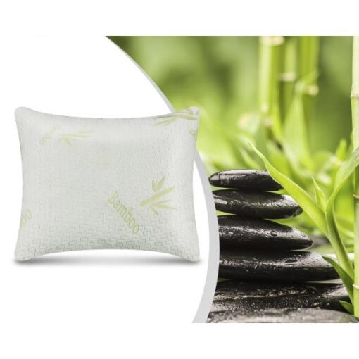 Dreamhouse Swiss Bamboo Memory Foam Pillow White