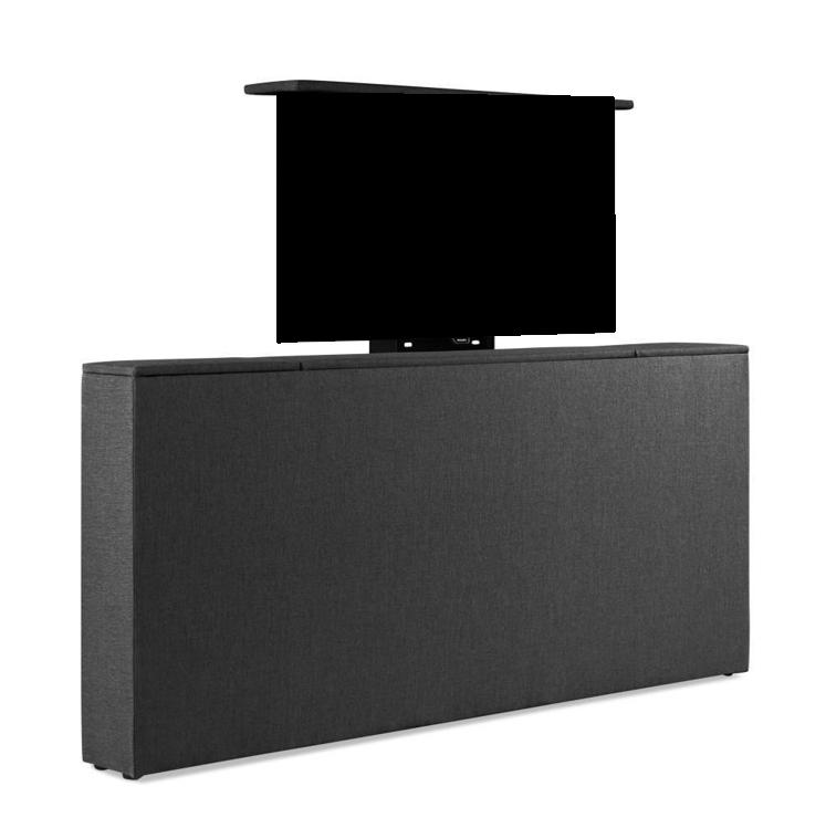 Voetbord met TV-lift | 37 verschillende stof/ kleuren mogelijk