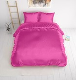 Sleeptime Beauty Skin Care Duvet Cover Hot Pink