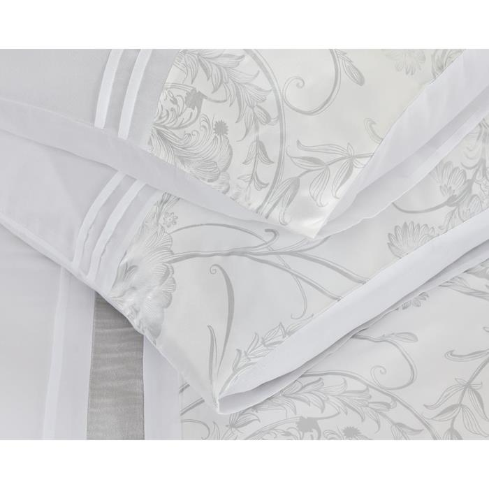 Fancy Embroidery Shanghai White