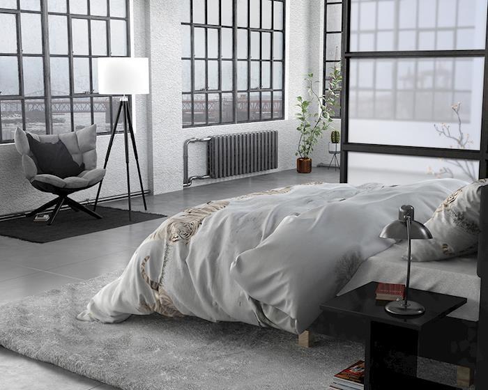 Sleeptime FL Winter Tiger White