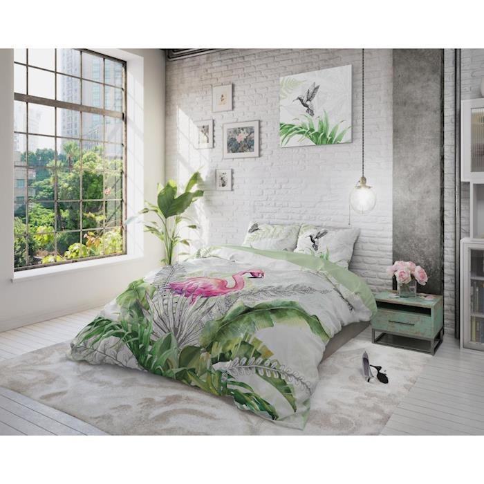 Dreamhouse Flamingo Splash White