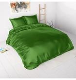 Sleeptime Beauty Skin Care Duvet Cover Green Silk Micropercal