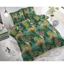Sleeptime Golden Botanical Green
