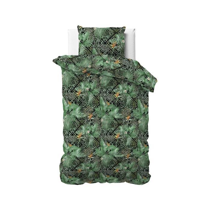 Sleeptime Botanical Mosaic Green