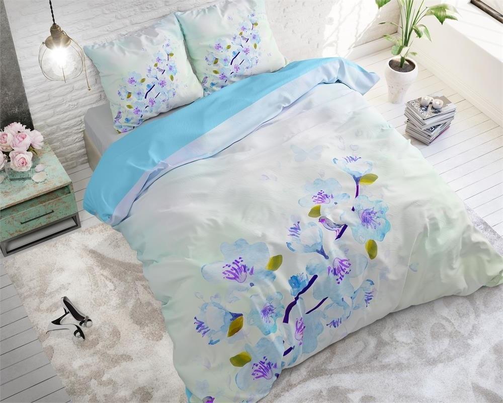 Sleeptime Sweet Flowers Blue