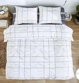 Dreamhouse Sketch White 100 % puur katoen en strijkvrij