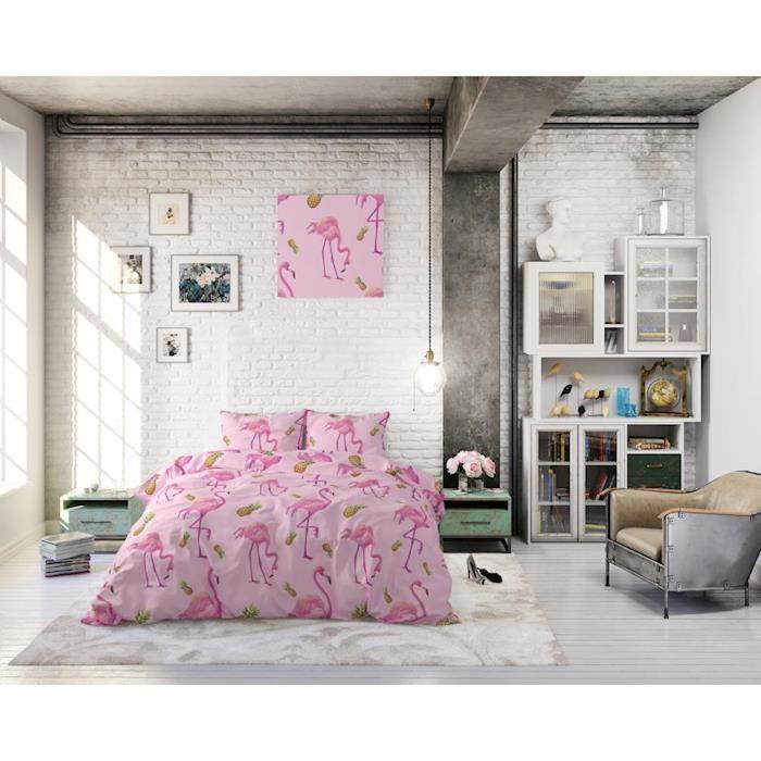 Sleeptime Tropical Flamingo Pink