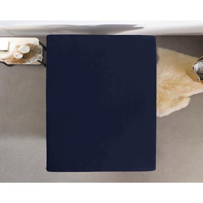 Dreamhouse Hoeslaken Jersey 135 gr. Indigo Blue