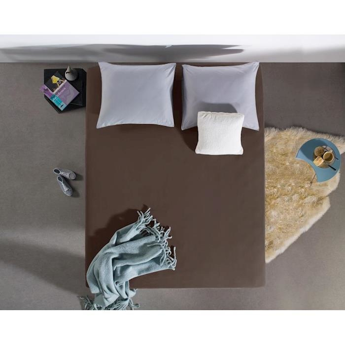 Dreamhouse Hoeslaken Jersey 135 gr. Deep Taupe