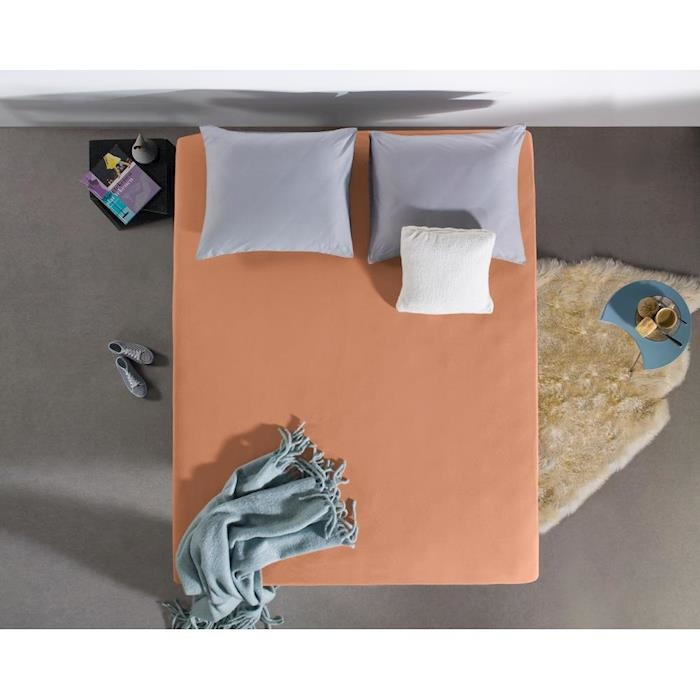 Dreamhouse Hoeslaken Jersey 135 gr. Pastel Orange