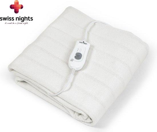 Swiss Nights Electric Blanket White