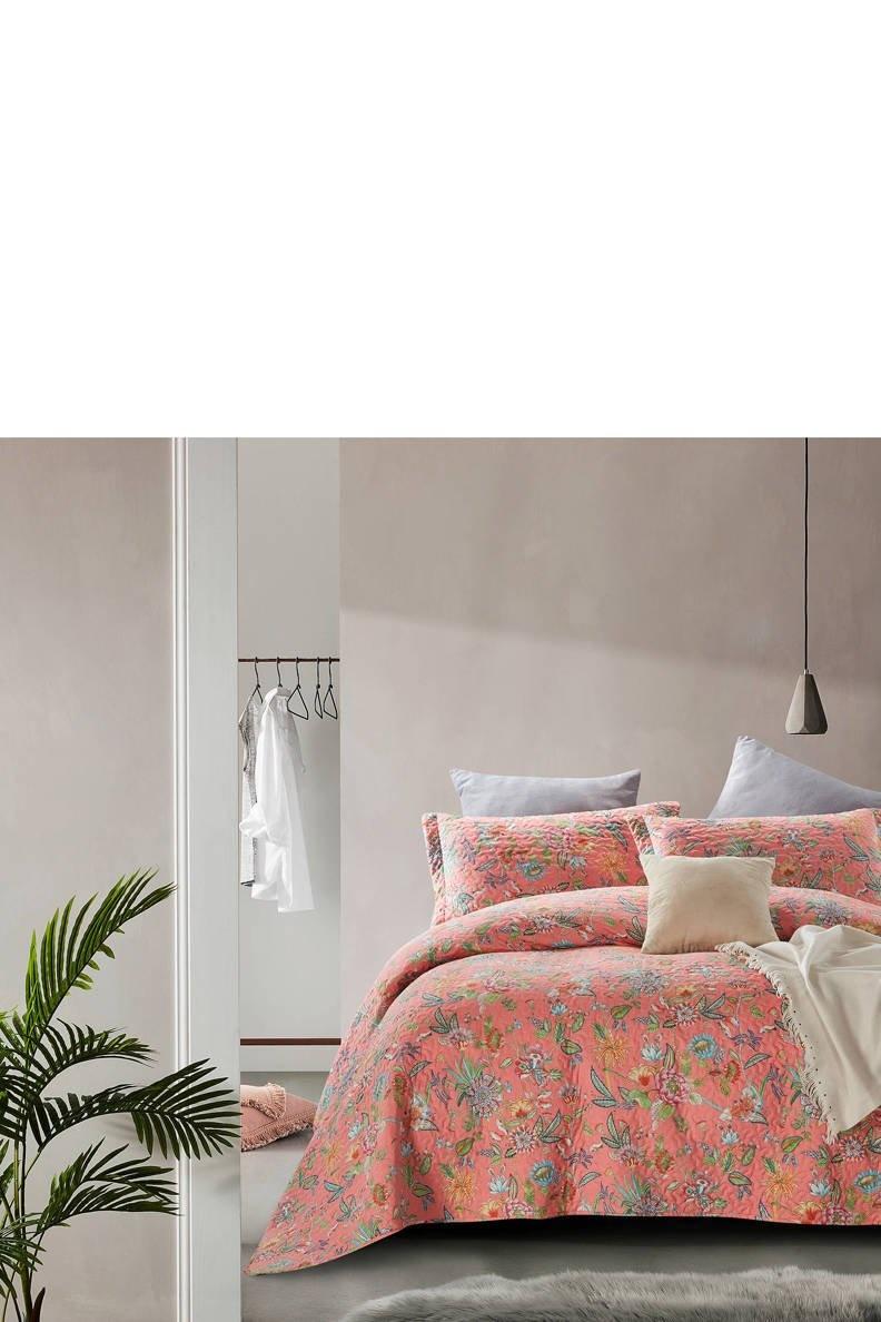 Dreamhouse Bedspread Lauren Pink